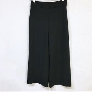Zara Wide Leg Pants Side Zip Size L